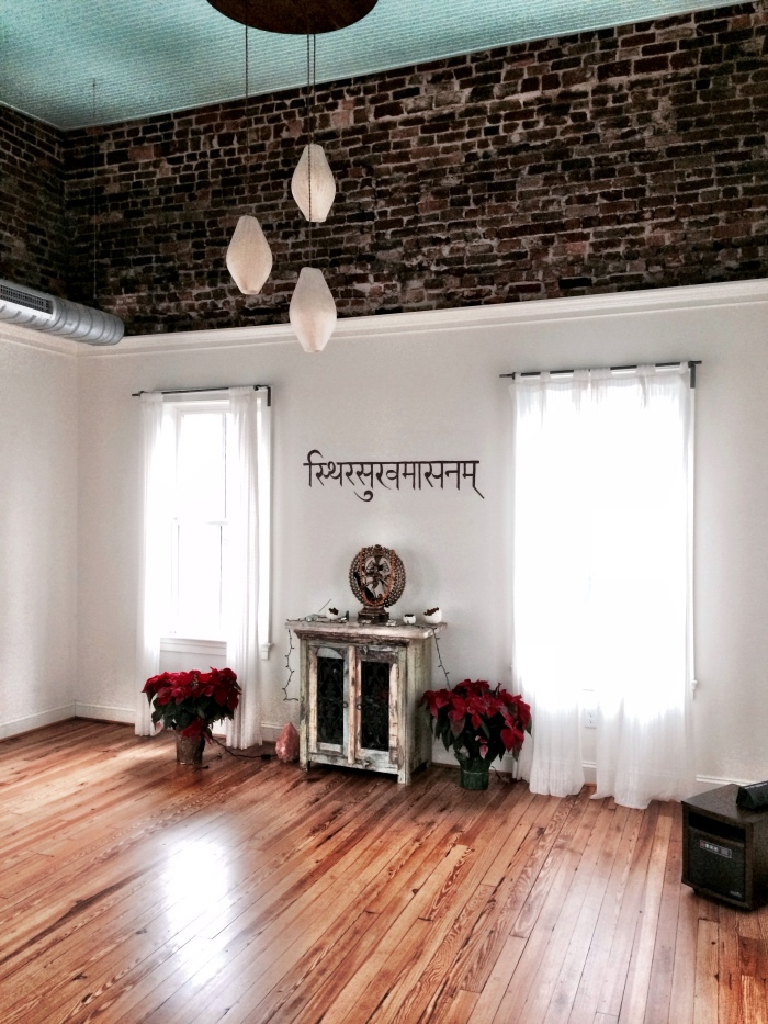fuel sweat grow: Christmas Eve Opal Yoga