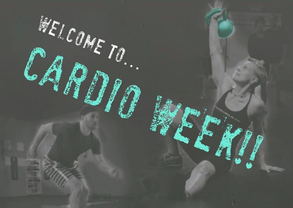fuel sweat grow: MADabolic Cville Cardio Week