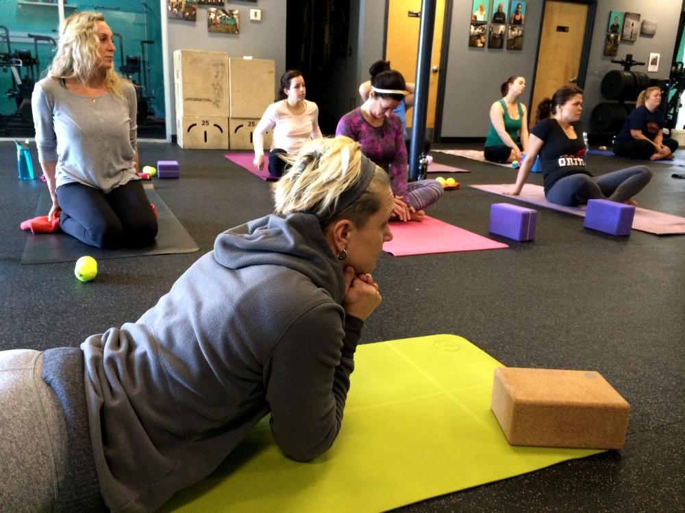 fuel sweat grow: yin yoga myofascial release