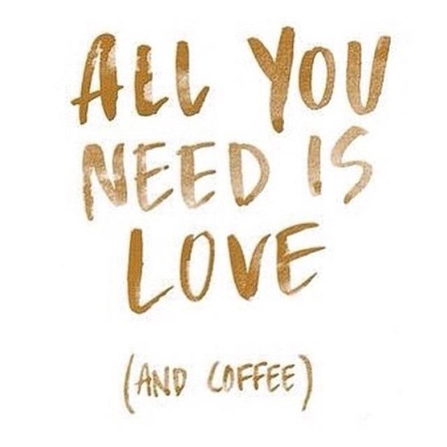 fuel sweat grow: love and coffee