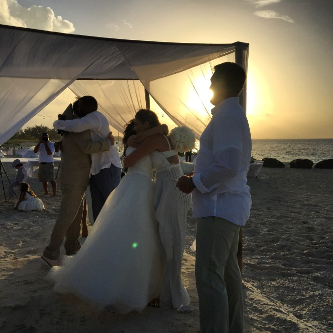 fuel sweat grow: Conchella wedding Turks and Caicos