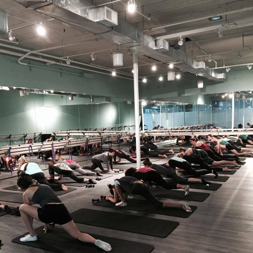 fuel sweat grow: bcore methods cardio barre